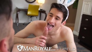 ManRoyale Open Minded Hunks Get Freaky On Easter Day