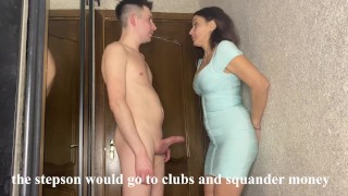 Best sex of a stepmom and stepson while her husband earns money on a business trip