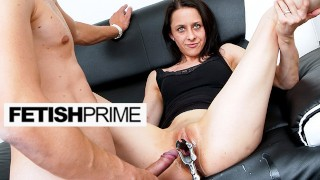 First Time Speculum Play at FetishPrime