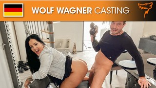 Big fat Ashley Cumstar likes a rough fuck in her pussy! Wolf Wagner Casting
