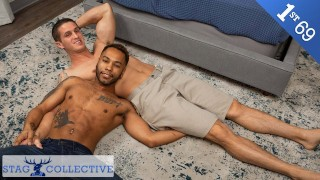 StagCollective - Straight Nick Clay's First 69 With Ebony Stud