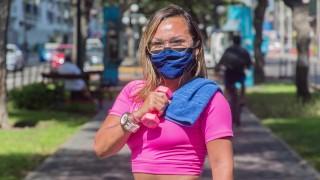 Peruvian gym teacher caught doing hot exercises (TREND IN PERU)