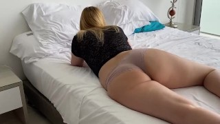 I sneaked into my room and i fucked her