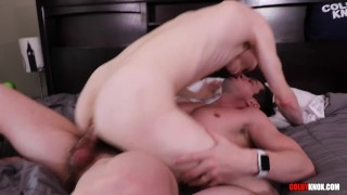 Adorable Blonde Twink Gets Wrecked by Colby Chambers BARE!!!