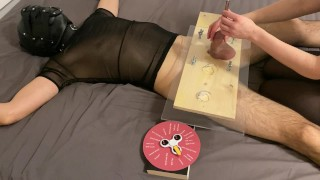 Wheel of Fortune #1 - CBT - Orgasm - Post orgasm torture