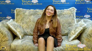 Lacey Laze - VegasCastingCouch HOT 20yr Full Casting Anal- POV Blowjob -Solo Masturbation - Bareback