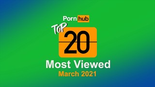 Most Viewed Videos of March 2021 - Pornhub Model Program