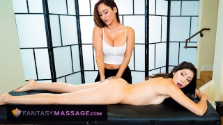 FantasyMassage Thirsty Lesbian Reena Sky Does It Better Than Men