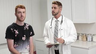 Handsome Redhead Sebastian Hunt Needs Libido Treatment