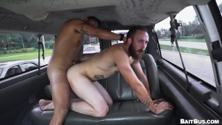 BAIT BUS - Cut Latinx Stud Antonio Ferrari Tricked Into Having Gay Sex With Dustin Steele