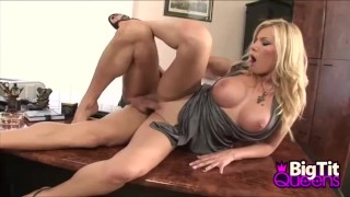 Busty Blonde Donna Bell Office Sex Play