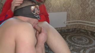 Artem cums on friend's face - ARTEM SUCHKOV