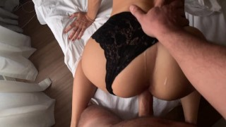 HOT PASSIONATE DOGGYSTYLE IN A PERFECT ASS LINGERIE - AMATEUR SASSY AND RUPHUS