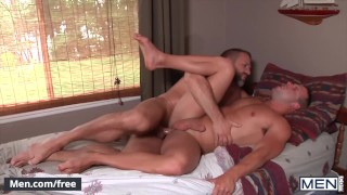 Men - Dirk Caber Fucks His Best Friend's Son Luke Adams And Busts His Load On His Butt