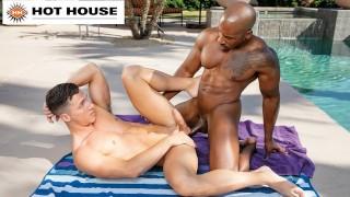 HotHouse - Ebony Max Konnor's Girthy Member Satisfies BF