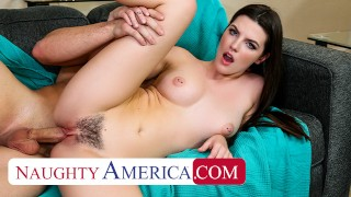 Naughty America - Fiona Frost takes nude pics with friend's bro before fucking his brains out on the
