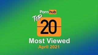 Most Viewed Videos of April 2021 - Pornhub Model Program