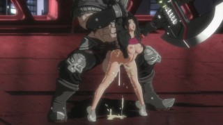 Sexy Busty Brunette And Big Monster Boss Cock - Pure Onyx [eromancer]