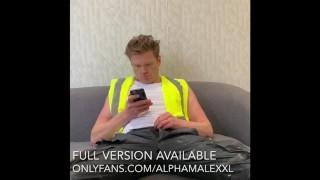 Builder Wanks Off Watching Porn Part 2 of 3 AlphaMaleXXL