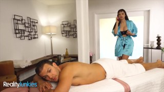 Reality Junkies - Sexy Masseuse Lexi Luna Is Angry At Her Bf & Codey Steele Helps Her Relax