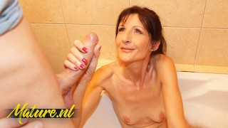 Skinny Mature Wife Creampied By Big Dick