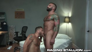 Superintendent Riley Mitchel Caught Fucking His Pants Down Gets Pounded - RagingStallion