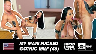German MILF Sidney Dark receives a cum in her mouth after fucking his dick! Steven Shame Dating