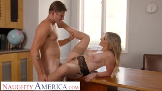 Naughty America - Cory Chase gives student tips on making a women's pussy dripping wet