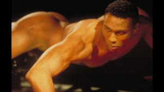 VINTAGE SHARPSHOOTER- Indego strips nude like it's 1994