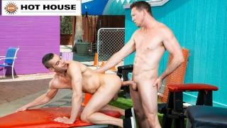 Pierce Paris Barebacks Horny Stranger In Back-Alley - HotHouse