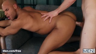 Men - Sean Zevran Swallows Calhoun Sawyer's Cock As He Fingers Him & Firmly Plants His Tongue Inside