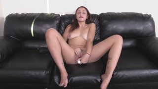 Fiance-Approved! Coed Vivian Jizzed On For Cash!