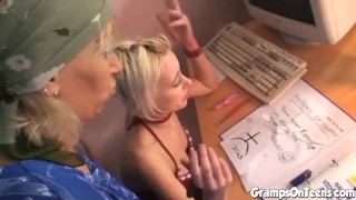 This Lovelygirl has sex with an old fart