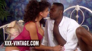 Interracial vintage sex with big tits Sarah Young