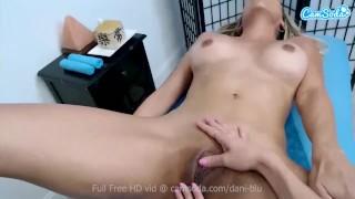 CamSoda Babe Dani Blu gets a sensual massage