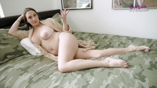 Breaking in New Sheets with My Busty Step Mom - Melanie Hicks