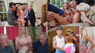 BLUE PILL MEN - Old Men Having More Fun With Blondes, Including Presley Carter, Kenzie Green + More