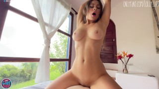 the hottie was caught on masturbating in the bushes and she was fucked