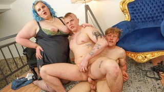 Fattie craves for some bisexual boys