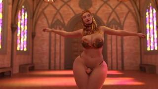 Fatanari dancing to fuck