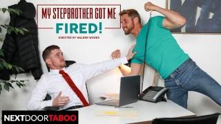 NextDoorTaboo - Ryan Jordan Distracted By Stepbrother's Big Cock At Work