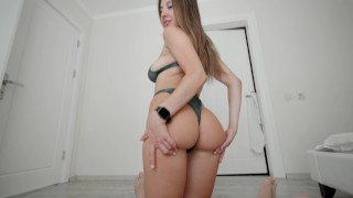 My tall gf rides my cock 3 times a day - Dickforlily