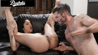 Cute Latina Step Daughter Squirts When Fucked By Step Dad - Diabolic