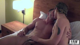 RawFuckBoys - Two hot hairless horny twinks fuck raw and hard in hotel