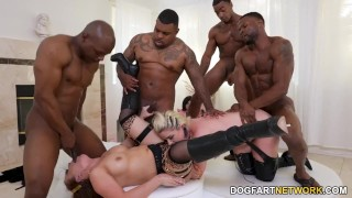 Carmen Valentina and Lisey Sweet Take BBC - Cuckold Sessions