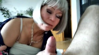 My mature slut missed my dick) Come on, whore, suck it and sit on top, lustful bitch! Family therapy