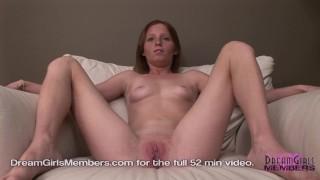 Petite Redhead Gapes Her Big Pussy Hot Closeups