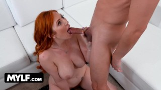 Stud Enjoys Milf Domination And Makes This Mature Slut With Huge Tits To Squirt All Over Him