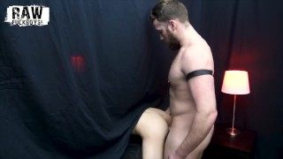 RawFuckBoys - Handsome leather dom breeds anonymous bottom