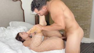 Big Ass Amateur Girlfriend is woken up with a Spectacular Anal Fuck